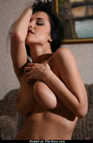 Image. Jenya D - naked wonderful girl with natural tittes image