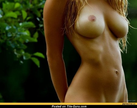 Image. Naked wonderful female with big natural boobies pic