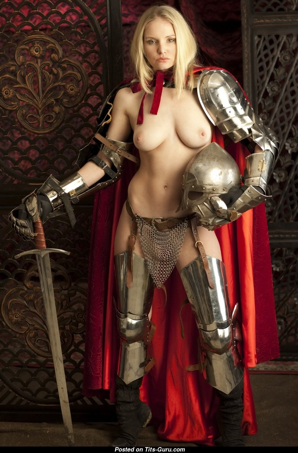 Naked in armor nackt photos