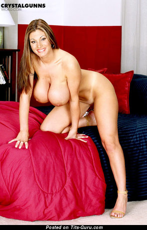 Image. Crystal Gunns - naked wonderful girl with huge breast pic