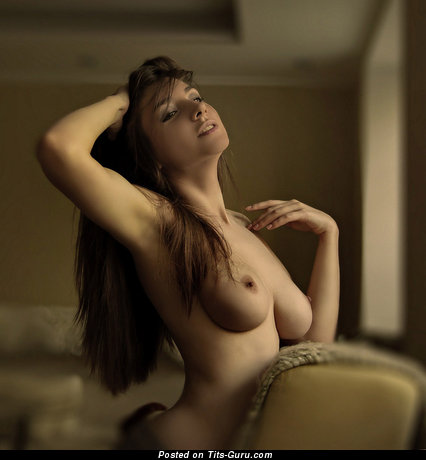 Image. Nude nice female with natural tittes pic