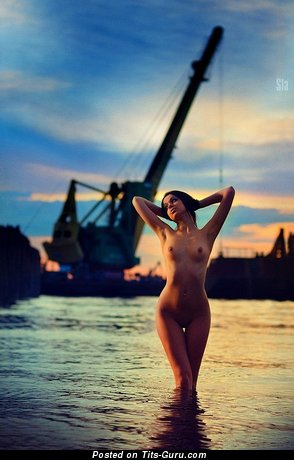 Image. Alena Smirnova - naked amazing female with medium natural tittes picture