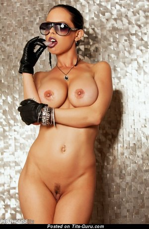 Exquisite Chick with Exquisite Bare Mega Hooters & Piercing (Hd Xxx Pic)