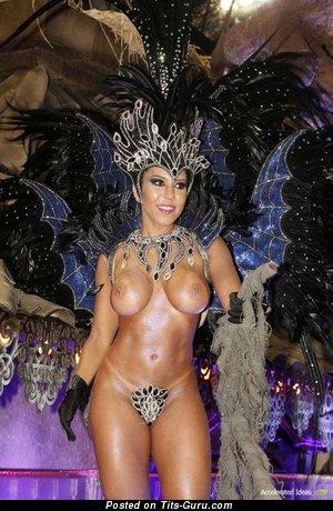 Renata Frisson - Charming Brazilian Dish with Charming Exposed Round Fake Normal Boobies (Porn Wallpaper)