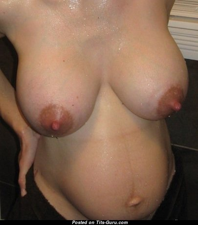Cute Topless Female with Pointy Nipples (Sexual Photo)