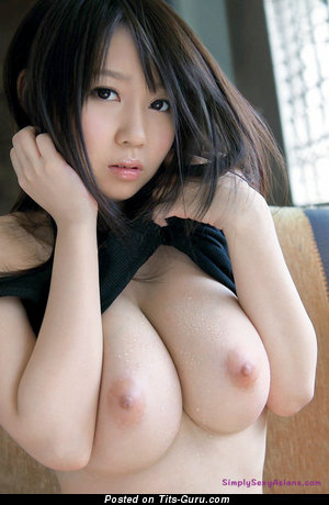Image. Aika Yumeno - sexy topless asian with medium natural boobies picture