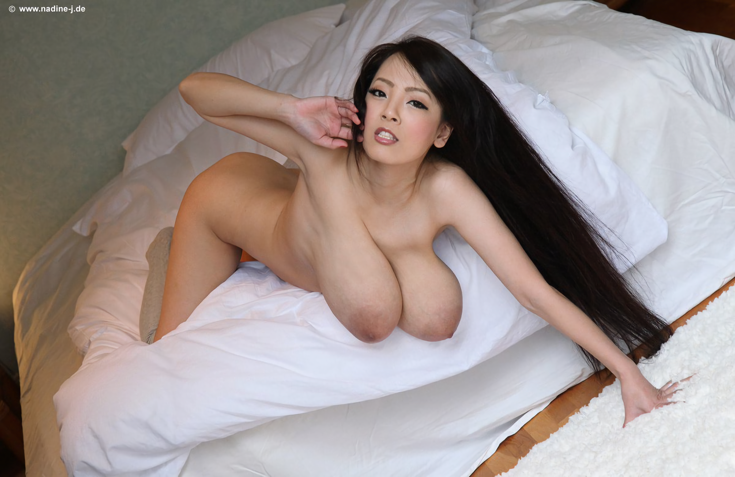 Hitomi Tanaka - Topless Asian Brunette Pornstar With -4865