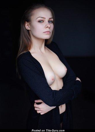 Image. Nice female with medium natural boob photo