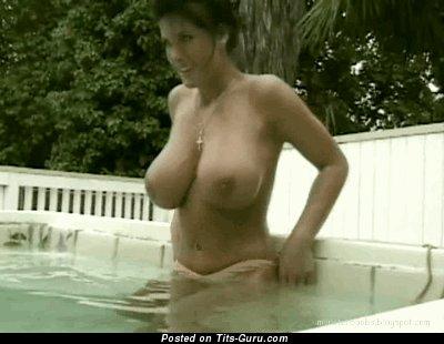Image. Naked amazing female with huge boobies gif