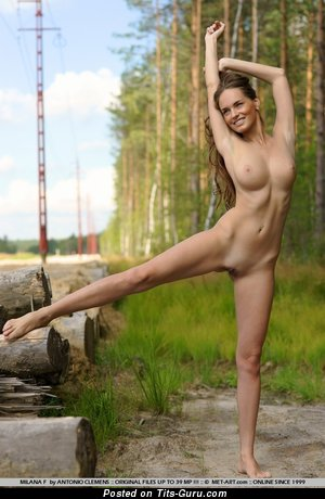 Image. Milana F - naked beautiful lady with big natural tits pic