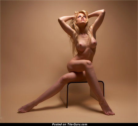 Image. Naked awesome lady with natural tittys photo