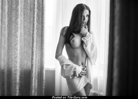 Elegant Skirt with Elegant Naked Firm Boob (Hd 18+ Pic)