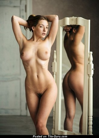 Image. Sexy topless amateur beautiful female photo