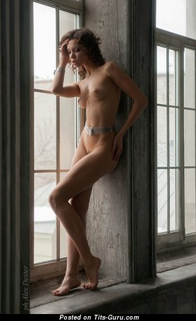 Image. Naked wonderful female with medium tittys image