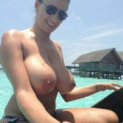 Nice lady with big tittes pic