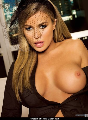 Image. Carmen Electra - naked red hair with big tits photo