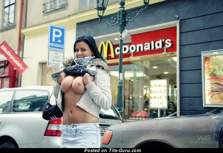 Nice Dame with Nice Open Big Breasts (Hd Sexual Picture)
