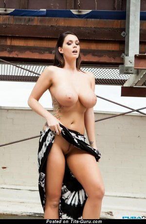 Marvelous Woman with Marvelous Nude Very Big Tit (Sex Image)