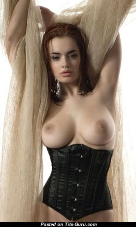 Fascinating Babe with Fascinating Exposed Natural Dd Size Boobs & Enormous Nipples (Xxx Picture)