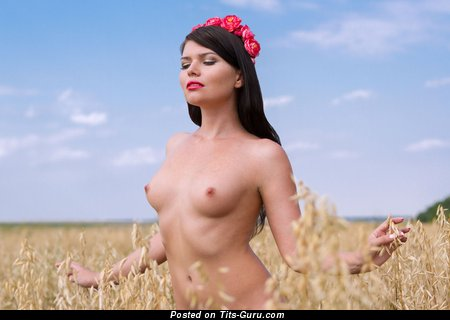 Image. Hot female with natural tits image