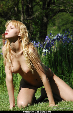 Grand Nude Blonde (Hd Sex Wallpaper)
