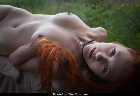 Image. Naked amazing woman with small natural breast image
