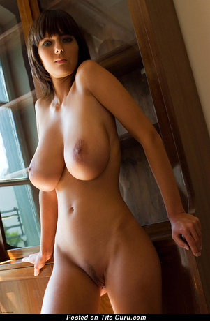 Image. Naked awesome female with huge natural tittys pic