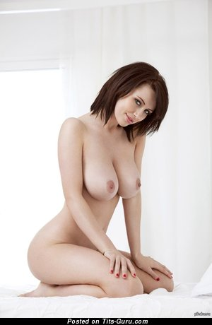 Image. Naked wonderful woman with big natural tittes photo
