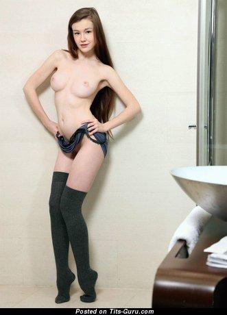 Naked beautiful lady photo