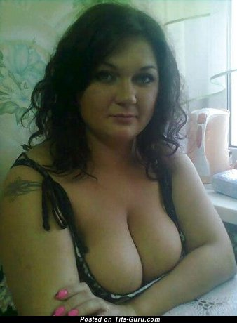 Image. Nude wonderful lady with natural breast pic
