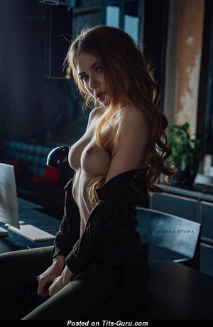 Alina Mayer - Yummy Girlfriend & Babe with Yummy Open Short Titties (Xxx Image)