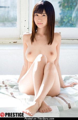 Fujie Fumisail - Sexy Topless Asian Babe with Sexy Naked Natural Average Boobie (18+ Wallpaper)