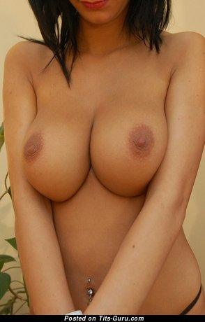 Image. Nude awesome female with big natural tots image