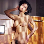 Lubachka - hot lady with medium natural tits photo