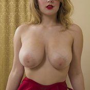 Beautiful woman with big natural breast pic