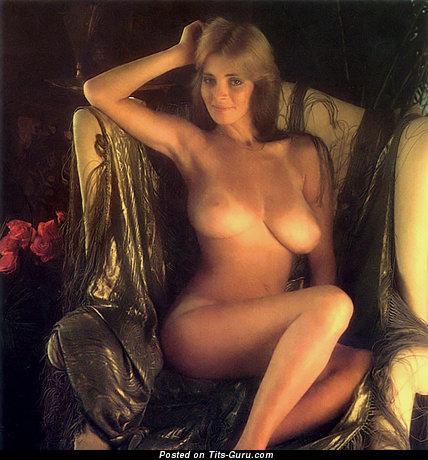 Изображение. Janet Lupo - изображение сексуальной раздетой девушки с большой натуральной грудью ретро