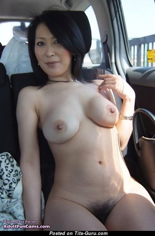 Graceful Undressed Asian Babe with Enormous Nipples (Home Sex Pix)