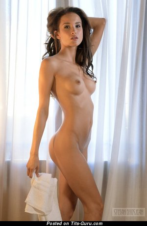 Image. Nude awesome girl with medium tits pic