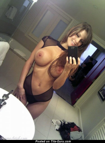 Wonderful Lady with Wonderful Open Silicone Full Boob (Sexual Photo)