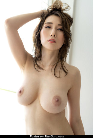 Stunning Asian Babe with Stunning Defenseless Natural Medium Sized Boobies (Hd Porn Wallpaper)