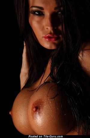Image. Nude wonderful lady with big fake tittys image