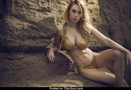 Juliana Kawka: sexy naked beautiful woman with medium natural tots image