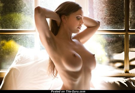 Adorable Girl with Adorable Defenseless G Size Boobie (Xxx Image)