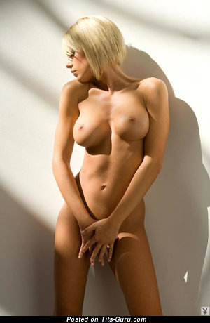 Image. Tiffany Selby - sexy topless blonde with big tittes and big nipples photo