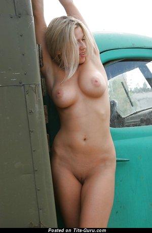 Image. Olga V - hot female with medium natural boobies image