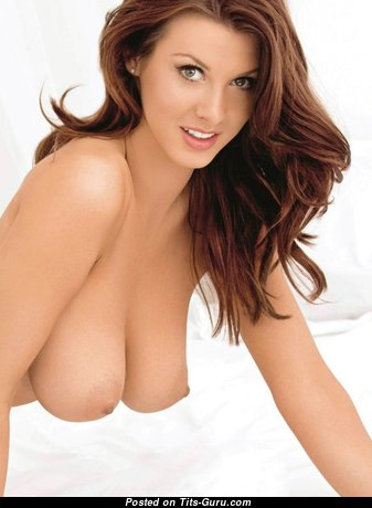 Superb Babe with Superb Naked Natural Medium Sized Busts (Porn Image)