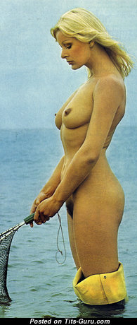 Nina Carter - Grand Topless British Blonde with Grand Defenseless Real Regular Boobies (Hd Sexual Wallpaper)