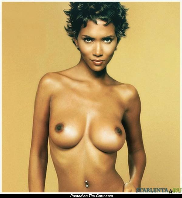 Naked picture of halle berry