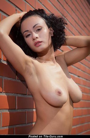 Image. Pammie Lee - nude brunette with medium natural tittes picture