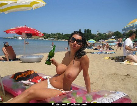 Alluring Topless Dame with Alluring Open Natural Mega Melons (on Public Hd Xxx Pix)